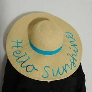Sun n' Sand Headwear Hello Sunshine Wide Brim Hat